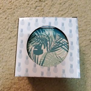 NWT Beach House Set of 4 Palm Coasters